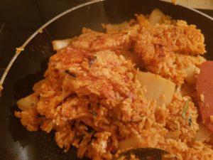 riz gratiné
