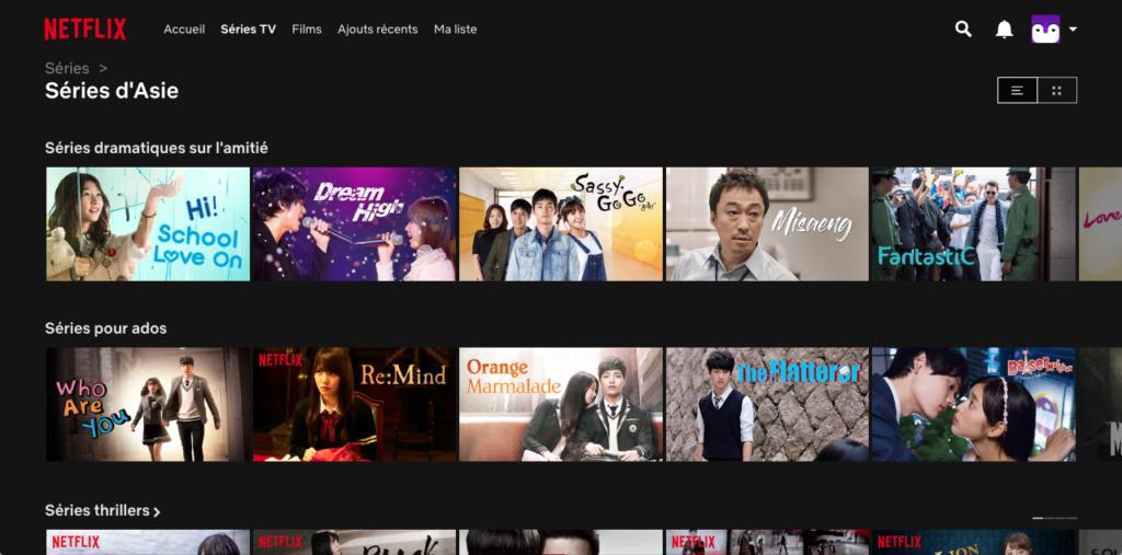 Netflix asia