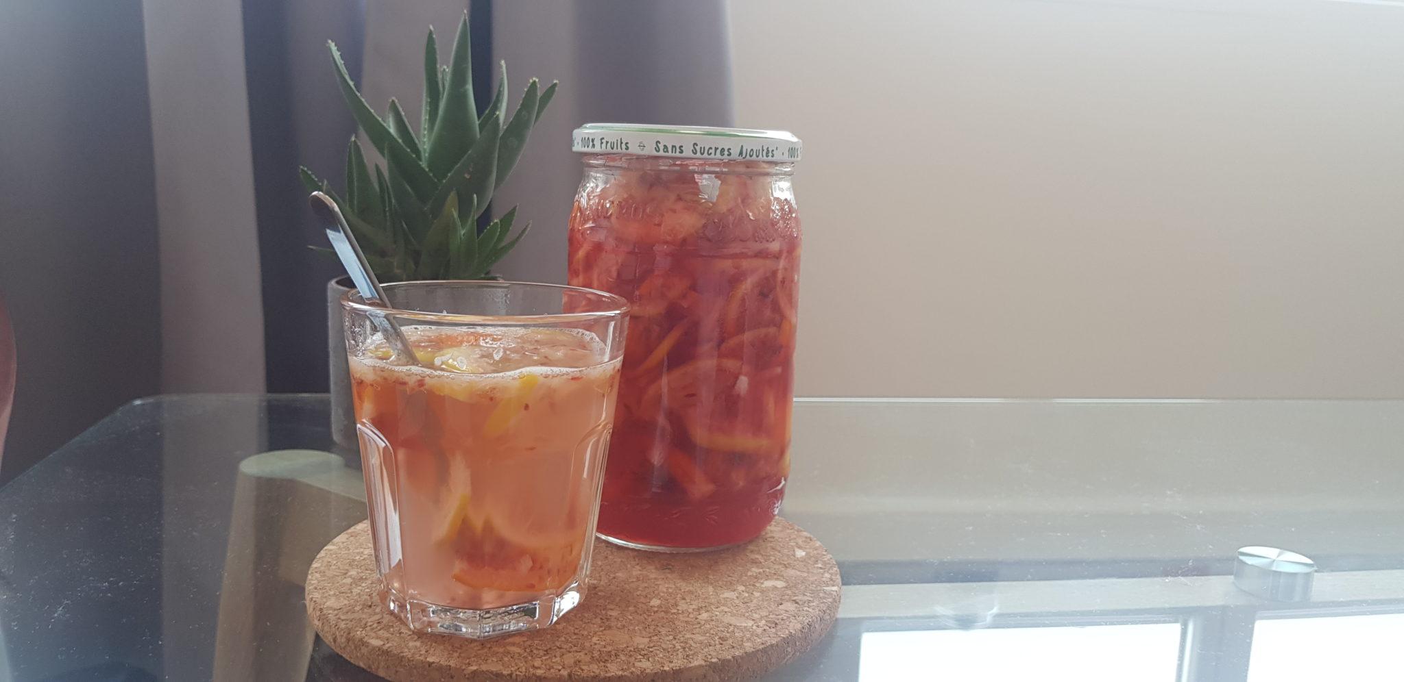 Thé aux agrumes façon coréenne - recette par Heol Café