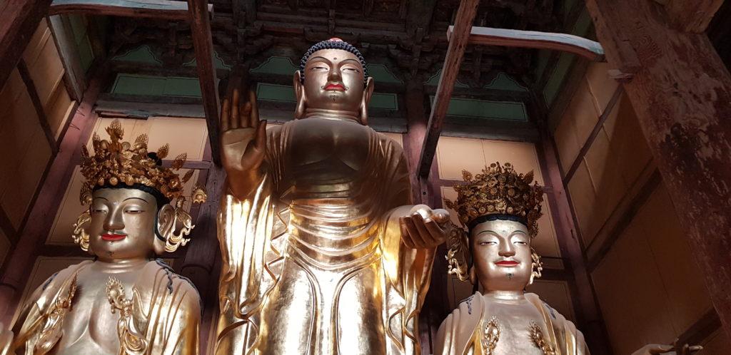 Geumsansa Statues Nouveau bouddha