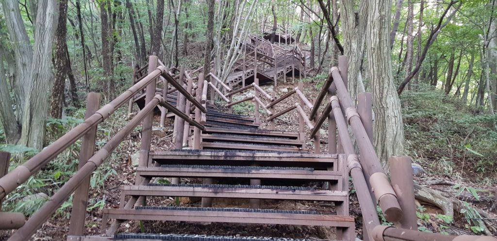 randonnée escaliers sans fin