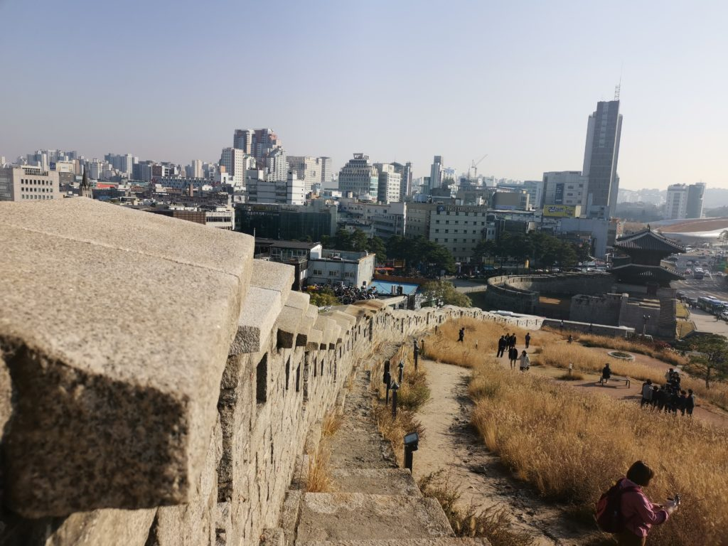 mur près de Dongdaemun